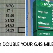 How To Double Your Gas Mileage 2X
