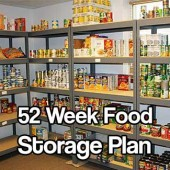 52 Week Food Storage Plan