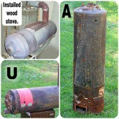 How To Convert a Hot Water Heater Into a Wood Stove