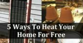 5 Ways To Heat Your Home For Free — Staying warm for free... I love these projects! With all things that involve flame, please remember to be responsible and do not leave these burning with no supervision. The last thing I would want is you to burn your house down.