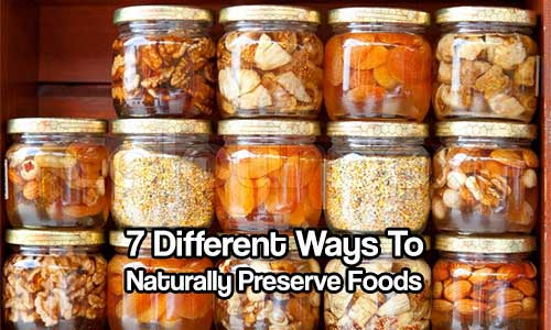 How To Preserve Food Naturally