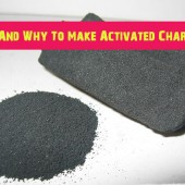 How And Why To Make Activated Charcoal