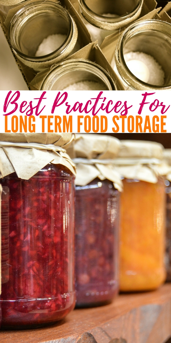Best Practices For Long Term Food Storage When It Comes To Preservation This