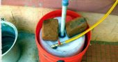 DIY Mini Bio-Gas Plant Using Decomposable Organic Material — Did you know you can produce your own gas to cook with from decomposable organic material and kitchen waste? Well you can