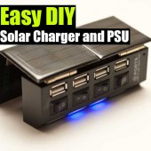 Easy DIY Solar Charger and PSU [updated]