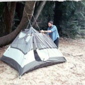 How To Pitch A Tent Without Poles In An Emergency