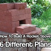 How To Build A Rocket Stove 6 Different Plans