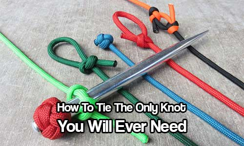 How To Tie The Ultimate All Purpose Knot Shtf Prepping
