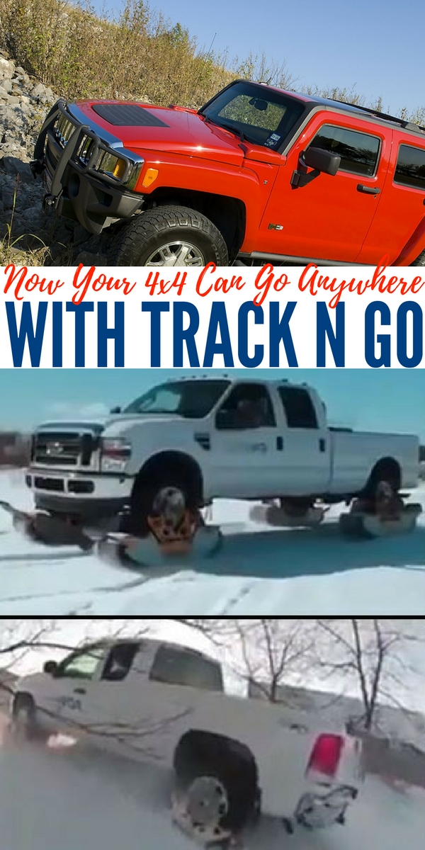 Now Your 4x4 Can Go Anywhere With Track N Go — Turn almost any vehicle into the ultimate bug out machine with Track N Go. I have to share this AWESOME product with you, I first saw a grainy video on Facebook and I was in awe! I couldn't stop watching.