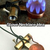 Stove Necklace Idea