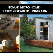 Nomad Micro Home – Easily Assembled, Under 30k
