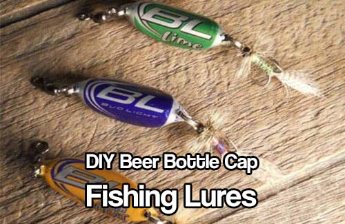 Diy beer bottle cap fishing lures shtf prepping central for Make your own fishing lures