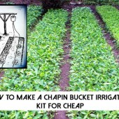 How To Make A Chapin Bucket Irrigation Kit For Cheap