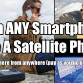 Turn Your Smartphone Into A Satellite Phone