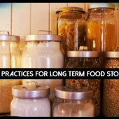 Best Practices For Long Term Food Storage