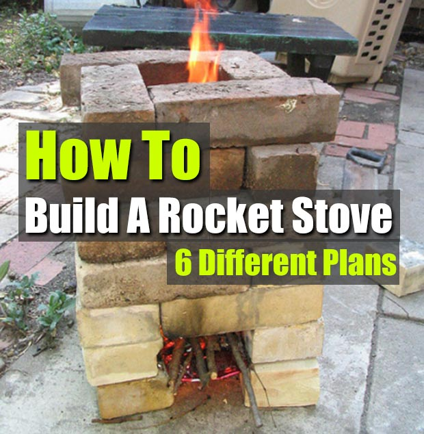 stoves rocket stove plans