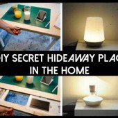 17 DIY Secret hideaway Places In The Home