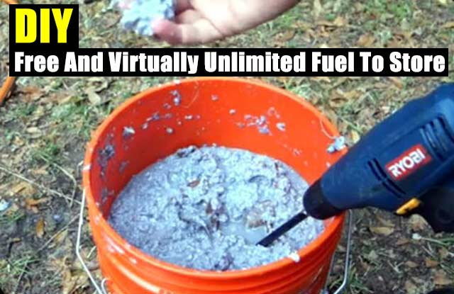 Summer Preparedness Bag >> DIY Free And Virtually Unlimited Fuel To Store - SHTF & Prepping Central