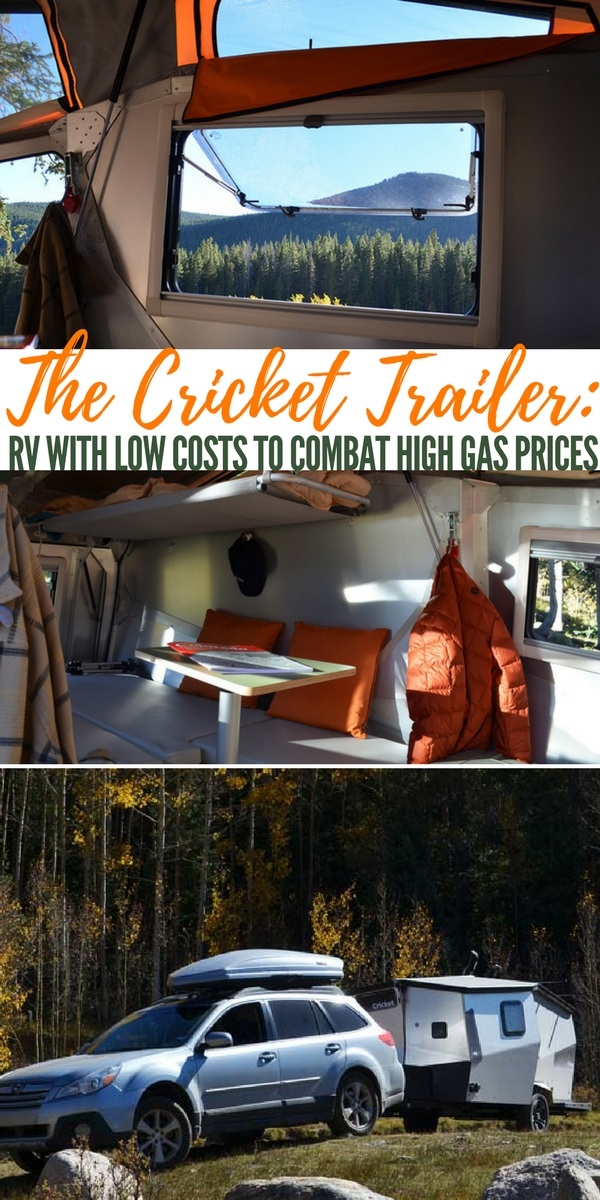 The Cricket Trailer: RV with Low Costs to Combat High Gas Prices — The Cricket trailer is a great option for a camping or bug out trailer. Low cost, lots of usable space. This trailer will quite literally rock your world.