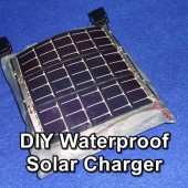 DIY Waterproof Solar Charger