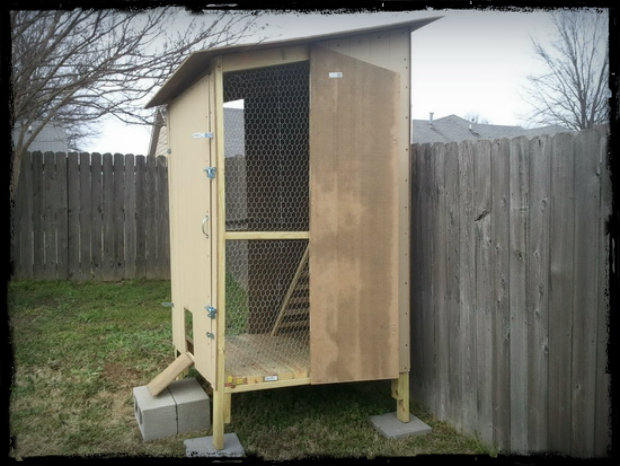 How To Build a Simple Yet Awesome Backyard Chicken Coop ...