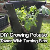 DIY Growing Potato Tower With Turning Bins