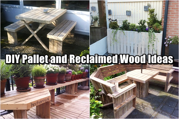 DIY Pallet and Reclaimed Wood Ideas - SHTF & Prepping Central
