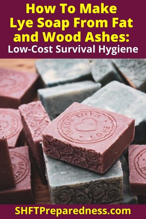 Making soap is really easy to do and really cheap! If SHTF there is no excuse to go dirty. Remember hygiene is really important in an emergency situation.