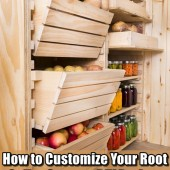 how to build a cheap root cellar