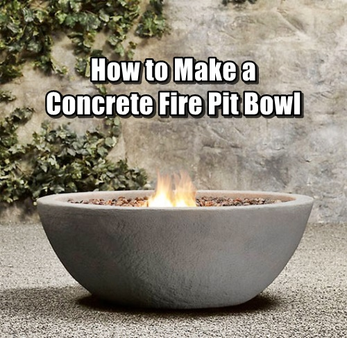 how to make a concrete fire pit bowl shtf prepping central. Black Bedroom Furniture Sets. Home Design Ideas