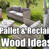 DIY Pallet and Reclaimed Wood Ideas