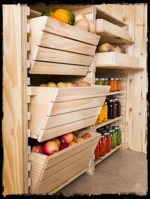 Customize Your Root Cellar Storage Diy Project Shtf