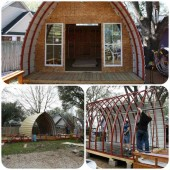 Build Your Very Own Arched Cabin In A Weekend For Under $5000