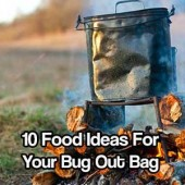 10 Food Ideas for Your Bug Out Bag