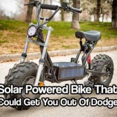 Solar Powered Bike That Could Get You Out Of Dodge