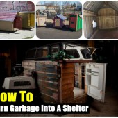 How To Turn Garbage Into A Shelter