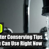 10 Water Conserving Tips You Can Use Right Now