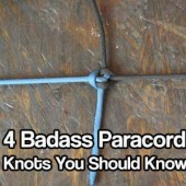 Four Badass Paracord Knots You Should Know