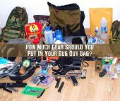 How Much Gear Should You Put In Your Bug Out Bag - The question of how much gear should be in a bug out bag has always been a contentious one. You can't carry everything, and you'd have a hard time surviving if you didn't carry anything. What's the answer?