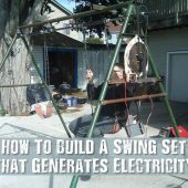 How To Build A Swing Set that Generates Electricity