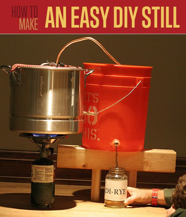 How To Make An Easy DIY Still - A still can make drinkable water from nasty, undrinkable water... even sea water. It's pretty amazing to think we could actually make this water drinkable and actually hydrate ourselves in a survival situation.