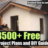 3500+ Free Project Plans and DIY Guides