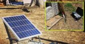 """The Perigee Power 401 Renewable Portable Solar Power Generator — The 401 """"Carry-On"""" is a portable power system that produces household electricity for products rated at 600 watts or less."""