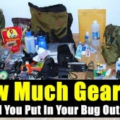 How Much Gear Should You Put In Your Bug Out Bag?