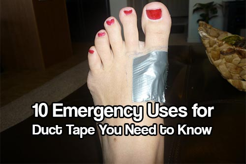 10 Emergency Uses for Duct Tape You Need to Know - Duct tape can be a lifesaver, and yes, I'm not kidding! When it comes to having a variety of uses, the lowly duct tape has come a long way. In fact, if you are interested in prepping, survival and disaster preparedness, duct tape should be a part of your arsenal of supplies for SHTF.