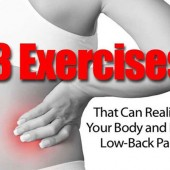 3 Exercises That Can Realign Your Body and Ease Low-Back Pain