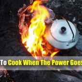 How To Cook When The Power Goes Out - At some point in our lives the power will go out. It may be caused by a freak storm or man made like an EMP or nuclear war. Either way knowing how to cook food and have the ability to purify water will save you and you family/neighbors lives.