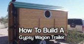 How To Build A Gypsy Wagon Trailer — If you are looking to build a nice camper or off the grid tiny house, I think this how to build a gypsy wagon trailer is for you. It combines the old-school look of.