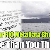 Is Your PIC MetaData Showing More Than You Think?