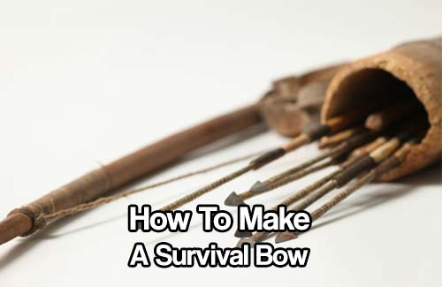 How To Make A Survival Bow - Knowing how to make a survival bow is a great skill set to have. Having a bow and arrow in an emergency will increase your chances of survival significantly. In fact it could mean the difference between no food and thriving.